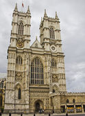 Visa av westminster abbey, london — Stockfoto