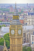View of London and the Big Ben — Stock Photo