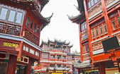 Shanghai old town, Yuyuan gardens — Stock Photo