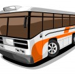 Stock Vector: Bus.
