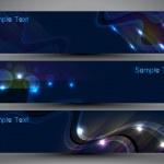 intestazione del sito Web o un banner con sfondo colorato — Vettoriale Stock  #11212009