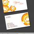 Abstract beautiful business card set, for more business card of this type please visit my portfolio. — Stock Vector #11339094