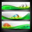 Abstract colorful Sport banners set. — Stock Vector