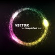 Vector illustration of Creative dynamic Sphere to attract attention to your design idea. editable Eps10. — Stock Vector