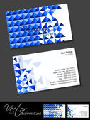 Abstract Business Card Set,for more business card of this type please visit my portfolio. — Stock Vector