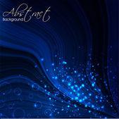 光沢のあるブルー抽象的な背景。eps 10. — ストックベクタ