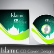 Islamic CD cover design with Mosque or Masjid. EPS 10. Vector il — Stock Vector #11692029