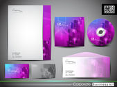Professional Corporate Identity kit or business kit — Cтоковый вектор