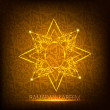 Shiny Ramadan Kareem background. EPS 10 - Stock Vector