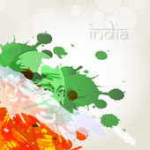 Creative Indian Flag background. EPS 10. — Stock Vector