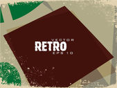 Abstract Retro Background. — Stock Vector