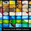 Professional business card set — Vector de stock