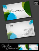 Professional business cards, template or visiting card set. and — Stock Vector