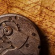 Close-up of an ancient gears — Stock Photo #12352597