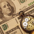Time is money concept — Stockfoto #12352638