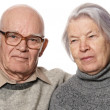 Portrait of a senior couple — Foto Stock