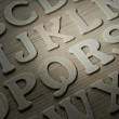 English alphabet background — Stock Photo