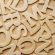English alphabet background — Stockfoto