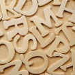 English alphabet background - Stock Photo