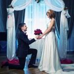 A couple on their wedding day — Stock Photo #12352919