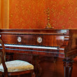 Luxury old piano — Stock Photo
