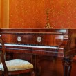 Luxury old piano — Stok fotoğraf
