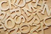 English alphabet background — Stock Photo