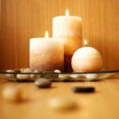 Beautiful candle design — Stock Photo