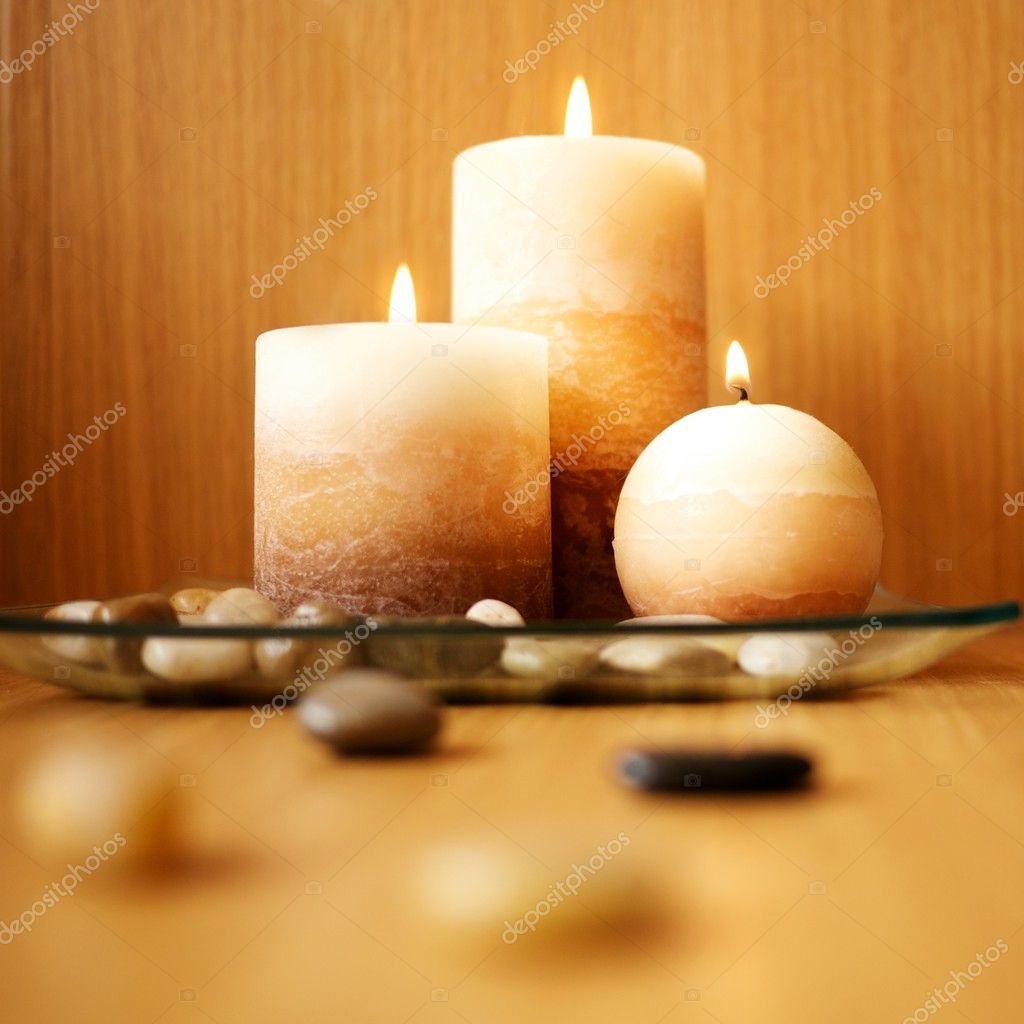Beautiful candle design — Stock Photo #12352979