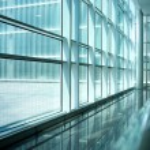 Inside of modern building — Stock Photo