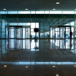 Modern office building hallway — Stock Photo