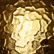Stock Photo: Abstract golden texture