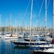 Yachts & boats in a harbour - ストック写真