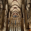 Stock Photo: Inside the Cathedral of Santa Eulalia in Barcelona