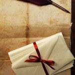 Vintage letter concept — Stock Photo