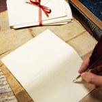 Vintage letter concept — Stock Photo #12373626