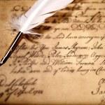 Vintage letter concept — Stock Photo #12373628