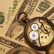Time is money concept — Stock Photo #12373723
