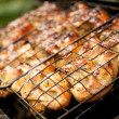 Close-up of a barbecue - Lizenzfreies Foto