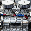 Chrome big block engine — Stock Photo #12373767