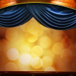 Drop-curtains with abstract background — Stock Photo #12373995