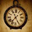 Vintage wall clock. — Foto Stock #12374032