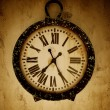 Stockfoto: Vintage wall clock.