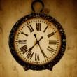 relógio de parede vintage — Foto Stock