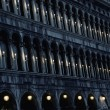 Architecture details in Venice — Stock Photo