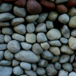 Gravel background - Stock Photo