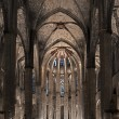 Inside the Cathedral of Santa Eulalia in Barcelona — Stock Photo #12374450
