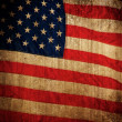 USA flag background — Stock Photo #12374461