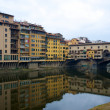 Ponte Vecchio bridge in Florence, Italy — Stock Photo
