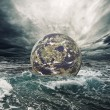 World in danger - Stock Photo